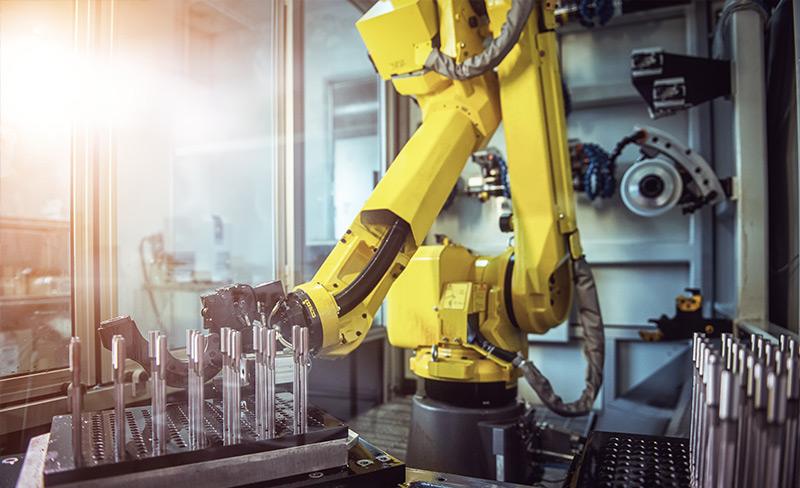 Umzug von Maschinen und Industrieanlagen