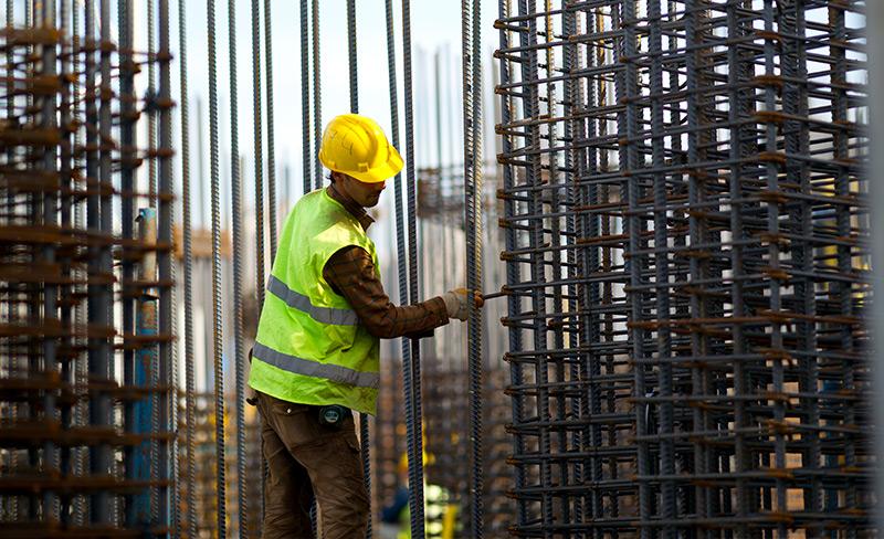 Bau und Reparatuar von Stahlkonstruktionen