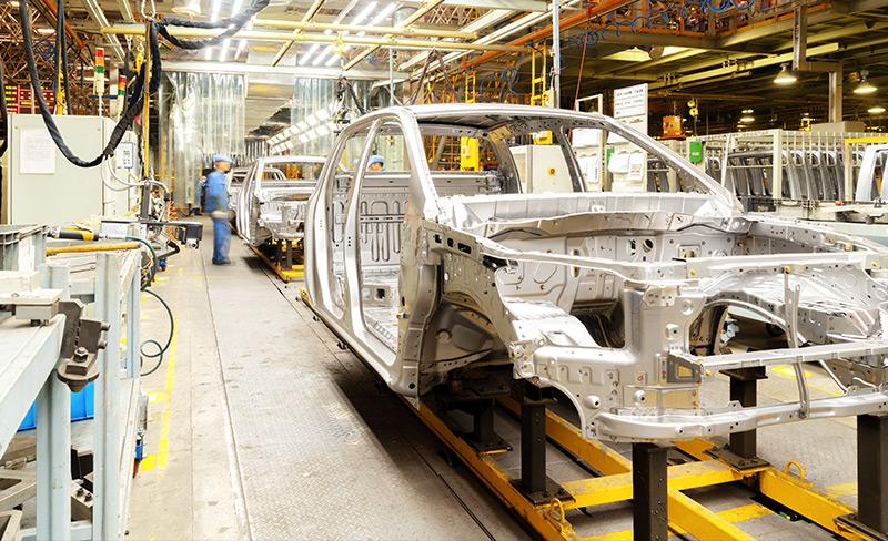 Umzug und Montage von Anlagen und Produktionslinien.