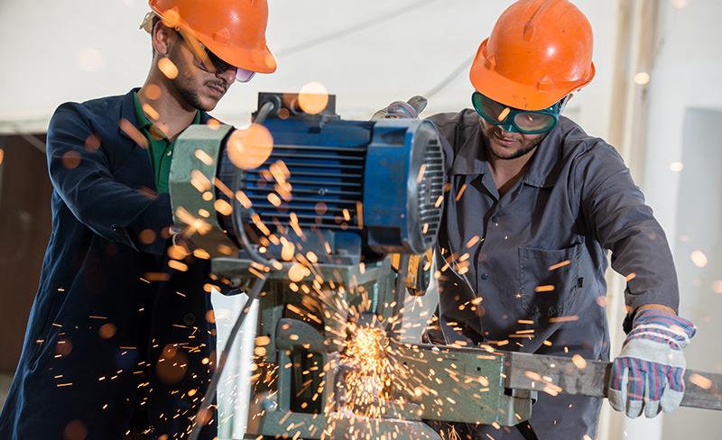 Metallarbeiten und Schweißarbeiten